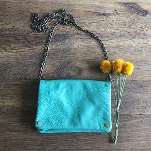 Teal Crossbody Bag